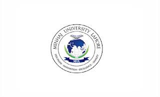 Minhaj University Jobs June 2021