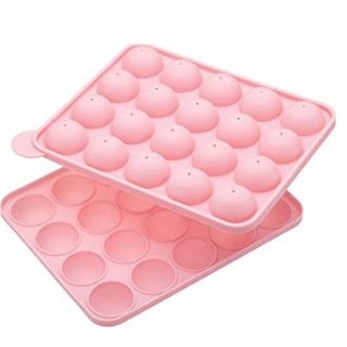 Pink cake pop mould - makes 20 cake pops