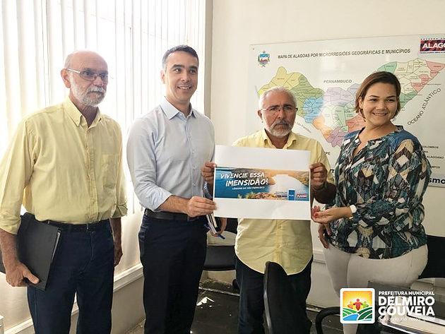 Turismo de Delmiro Gouveia será divulgado em outdoors nacionais