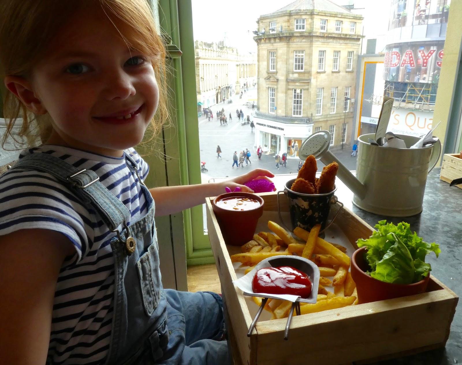 The Botanist Newcastle - Children's Menu Review