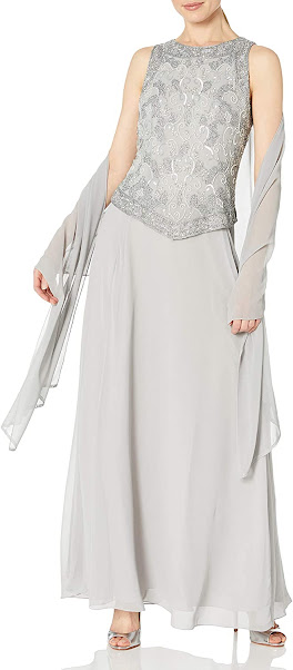 Beautiful Silver Mother of The Bride Dresses