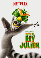 pelicula Viva el Rey Julien