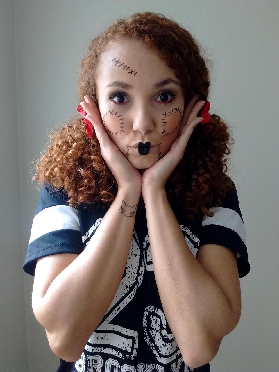 Maquiagem de Boneca