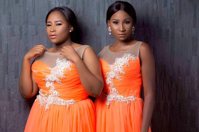 Miss Nigeria and her twin celebrate 23rd birthday with beautiful photoshoot