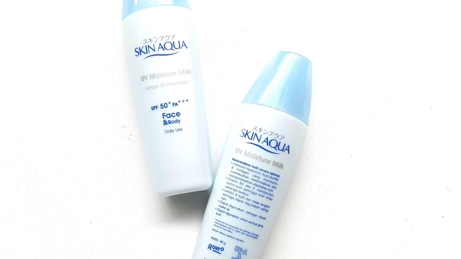 skin-aqua-uv-moisture-milk, review-skin-aqua, skin-aqua-sunscreen, sunscreen-skin-aqua-spf-50