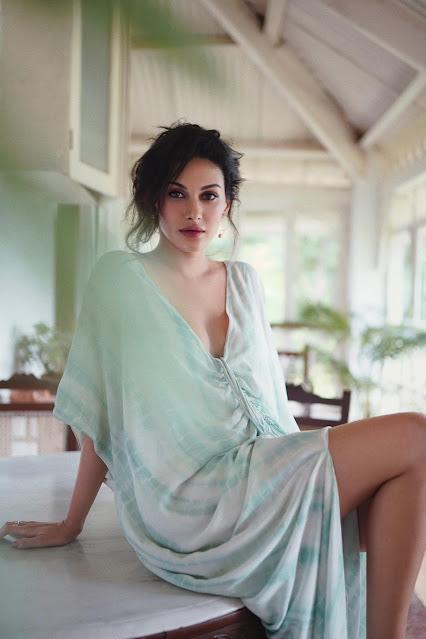 Actress Amyra Dastur Hot and Bold Photoshoot Stills Actress Trend