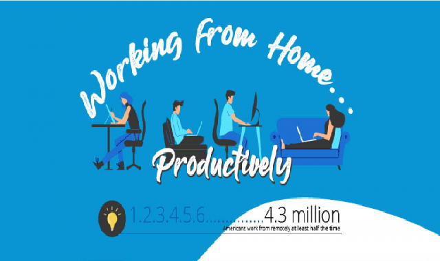 Tips for Working Remotely…and Productively #infographic