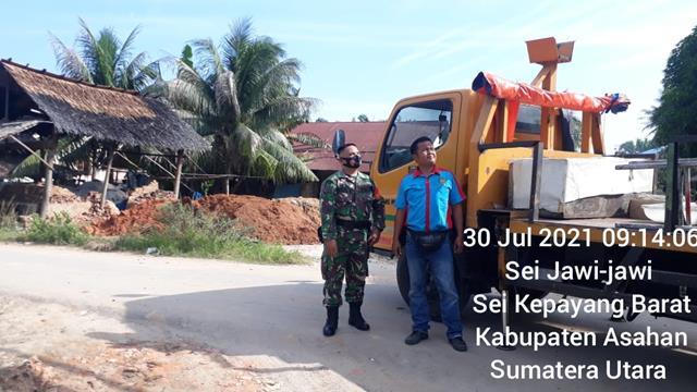 Jalin Silaturahmi, Personel Jajaran Kodim 0208/Asahan Laksanakan Komunikasi Sosial Diwilayah Binaan