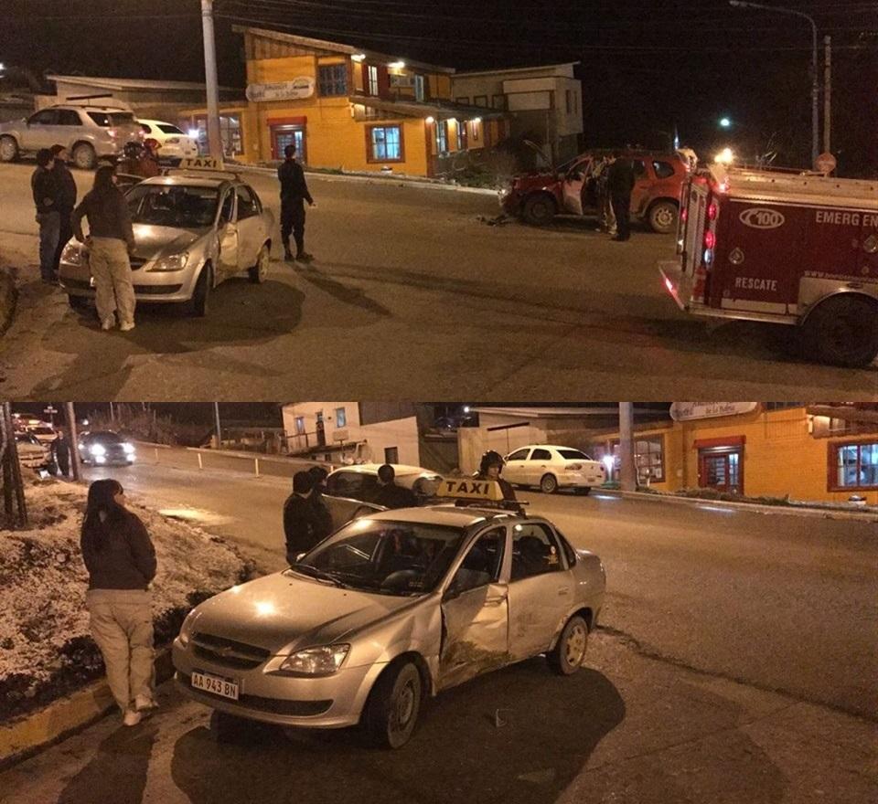 Choque Magallanes y 25 Mayo