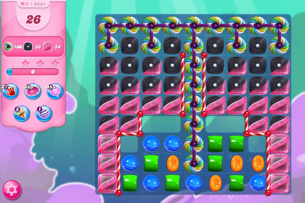 Candy Crush Saga level 8251