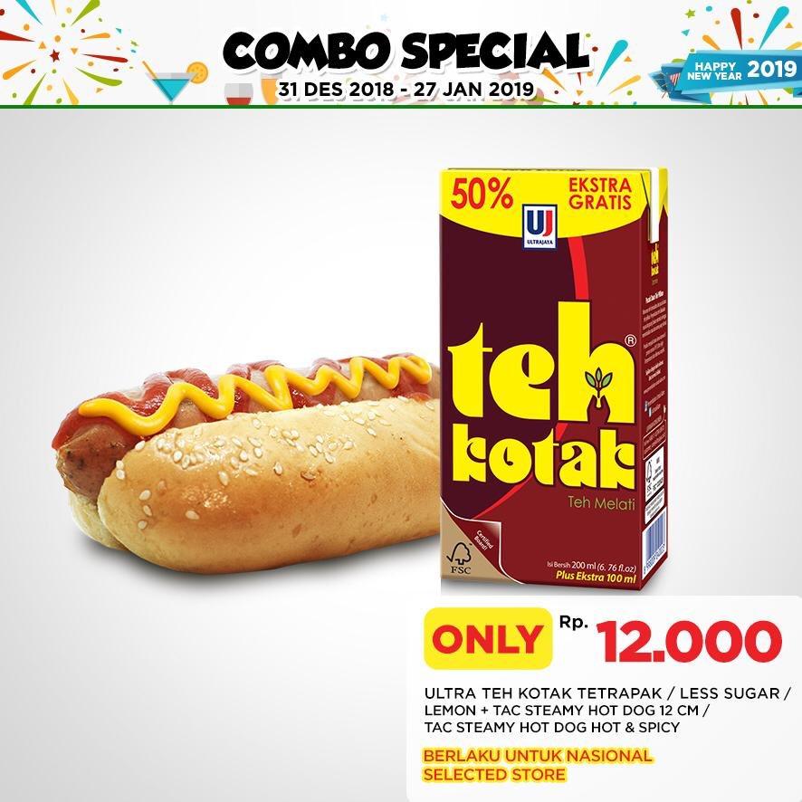 #CircleK - Promo Combo Special Cuma 12K Hotdog & Minuman (s.d 27 Jan 2019)