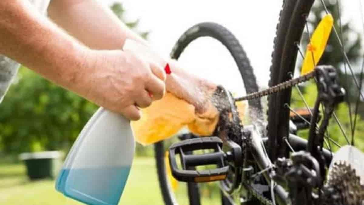 Como limpar minha bicicleta