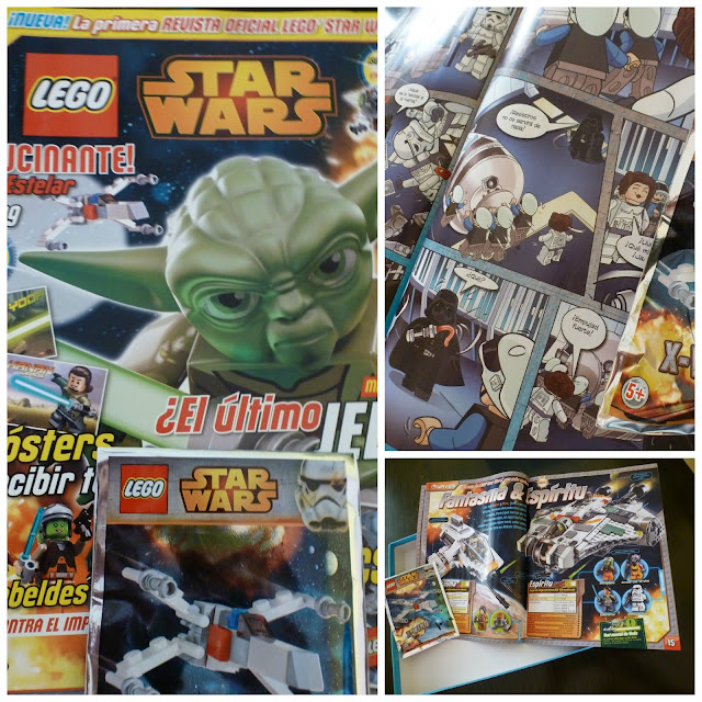 Mamás Full Time leer star wars lego