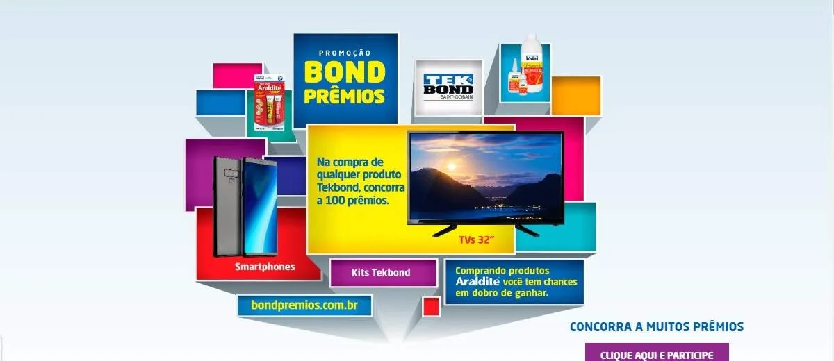 Promoção Bond Prêmios 2020 - Ganhe Prêmios
