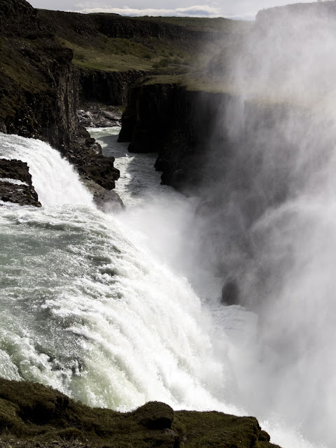 Self-drive around Iceland's Golden Circle: Gulfoss waterfall