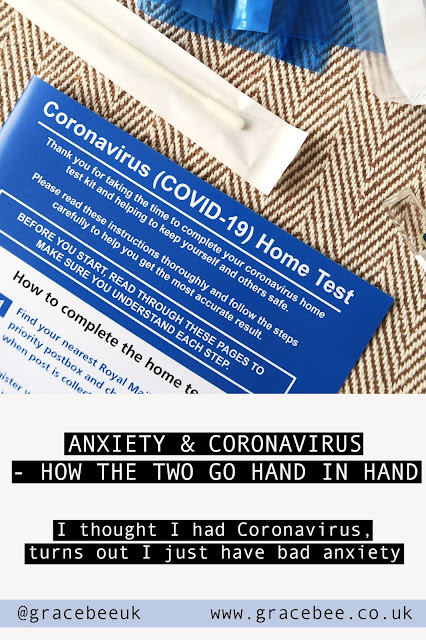 The leaflet that comes with a covid-19 home testing kit