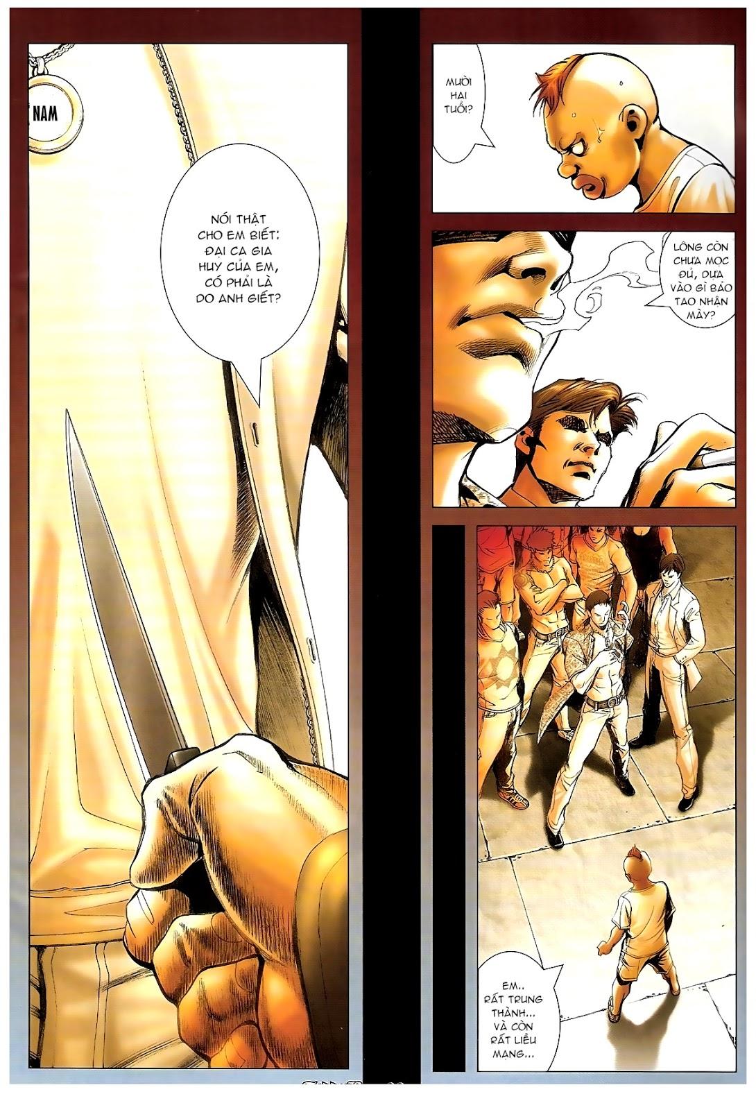 Người Trong Giang Hồ - Chapter 1235: Đồng qui ư tận - Pic 18