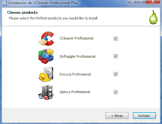 CCleaner 5.19.5633 Professional Plus (Español)(Suite de Piriform 4 en 1)