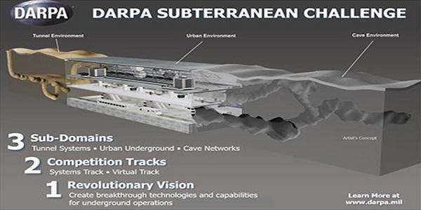 DARPA Subterranean Challenge: Το αμερικανικό Πεντάγωνο «κοιτά» κάτω από το έδαφος