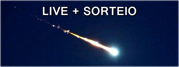 live - chuva de meteoros Geminidas 2018