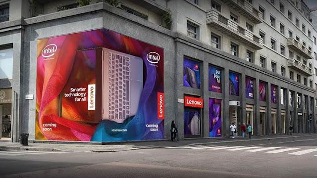 Spazio Lenovo: A primeira loja conceptual da Lenovo na Europa vai abrir em Milão
