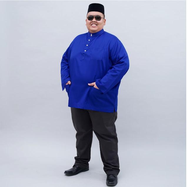 Baju Melayu Bob Rock LoveLily Kini Hadir Dalam 8 Warna Terbaru Untuk Mereka Yang Bersaiz Besar