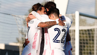Tiramos dos puntos en el descuento. Real Madrid Castilla 2-2 Talavera.