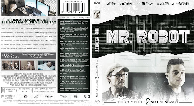 Capa Bluray Mr Robot Segunda Temporada Completa