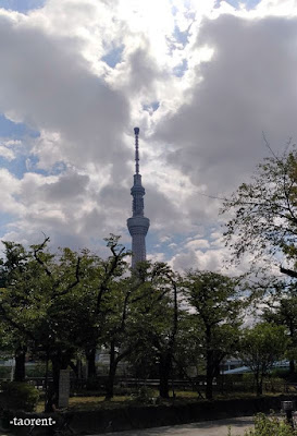 travelling to tokyo skytree tower