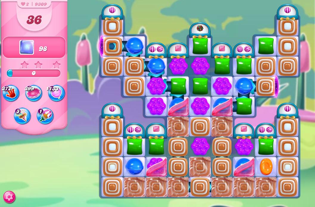 Candy Crush Saga level 9309