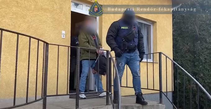 Szép fogás a budapesti rendőröktől: 6 millió készpénz, 6,5 millió értékű kábítószer