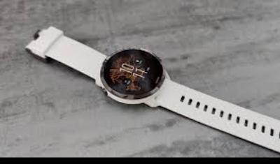 White sunnto smart watch