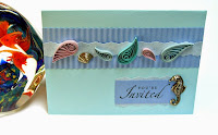Quilled Seashells Card