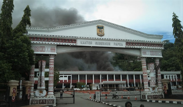 Polemik Kantor Gubernur 'Sengaja' Dibakar, DPRP Desak Polisi Lakukan Penyelidikan