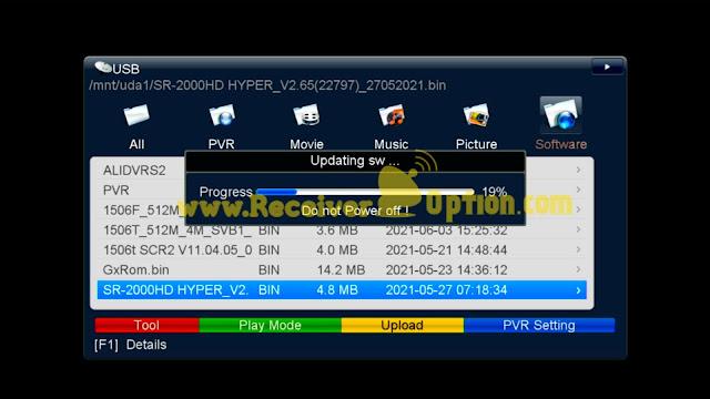 STAR SAT SR-2000 HD HYPER RECEIVER NEW SOFTWARE V2.65 27 MAY 2021