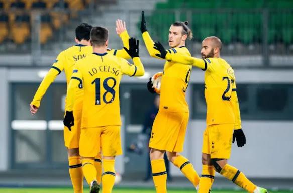 تشكيلة توتنهام الرسمية لمواجهة رويال انتويرب اليوم الخميس في الدوري الاوروبي