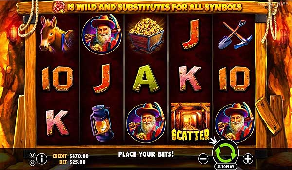 Main Gratis Slot Indonesia - Gold Rush (Pragmatic Play)
