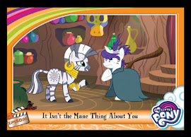 MLP It Isn't the Mane Thing About You Series 5 Trading Card