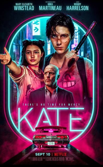 Netflix Kate Movie Poster