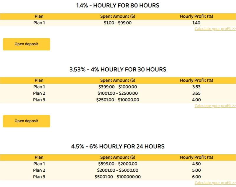 Инвестиционные планы Top Hours