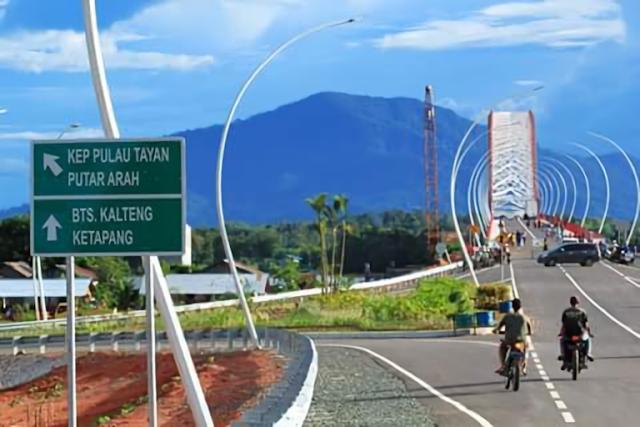 Pak Kasih, Pejuang Dayak yang Menjadi Nama Jembatan Tayan