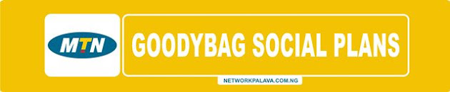 mtn goodybag social data plans