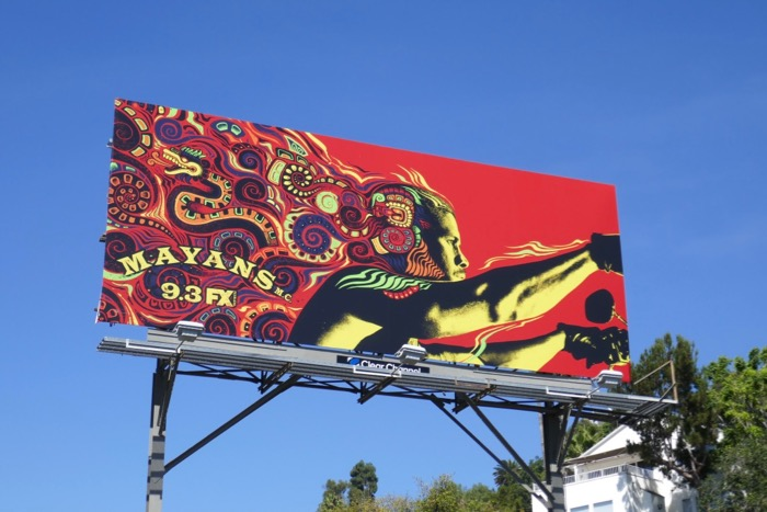 Mayans MC season 2 FX billboard
