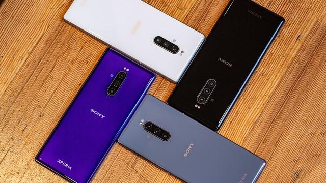 ألوان هاتف Xperia 1