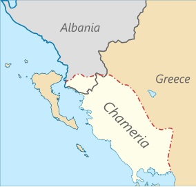 Chameria is declared independent in The Hague, supported in Kosovo