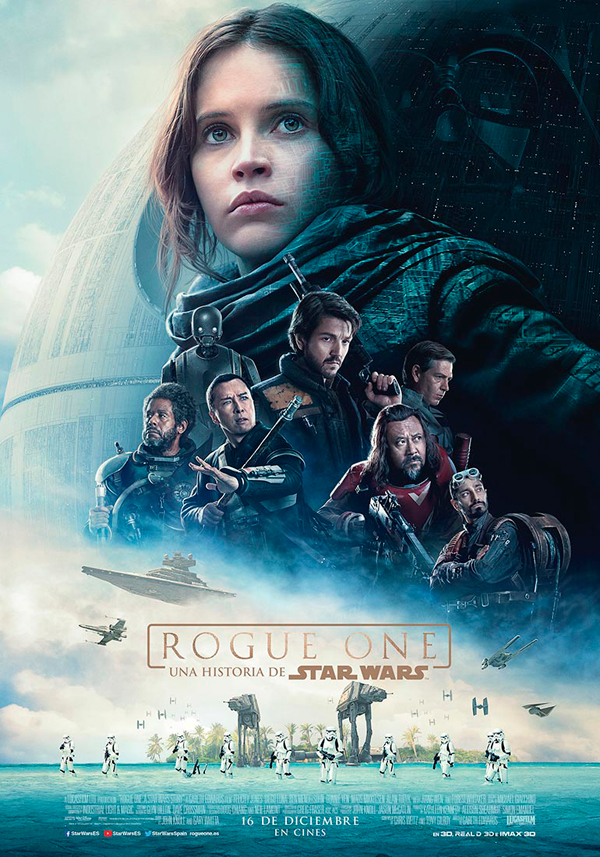 Cartel Rogue One: Una historia de Star Wars