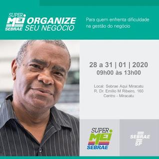 SEBRAE AQUI DE MIRACATU REALIZA CURSO PARA EMPREENDEDORES