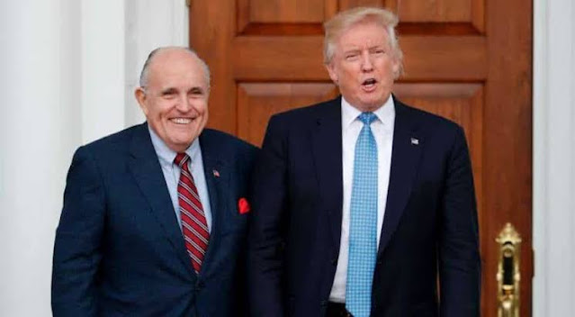 New York State Bar Association announces its removal of Trump's personal lawyer Rudy Giuliani from its membership