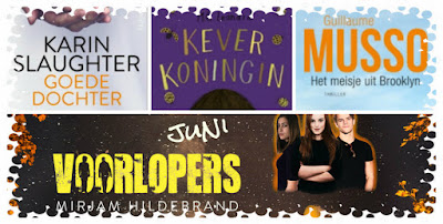Karin Slaughter, MG Leonard, Guillaume Musso, Mirjam Hildebrand, HarperCollinsHolland, AW Bruna, Kluitman, Querido