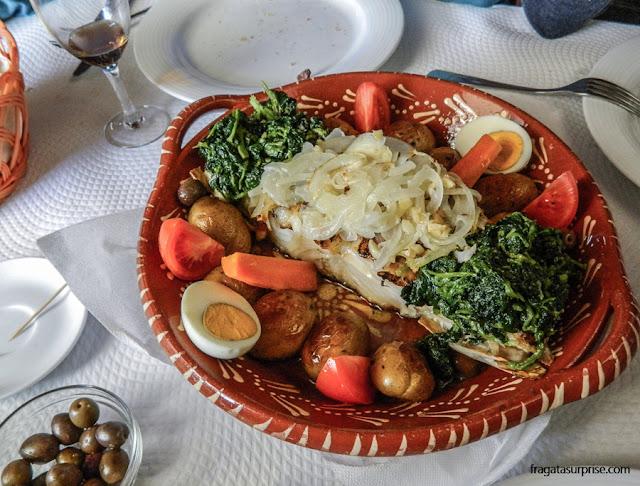 Comer em Portugal - bacalhau na brasa